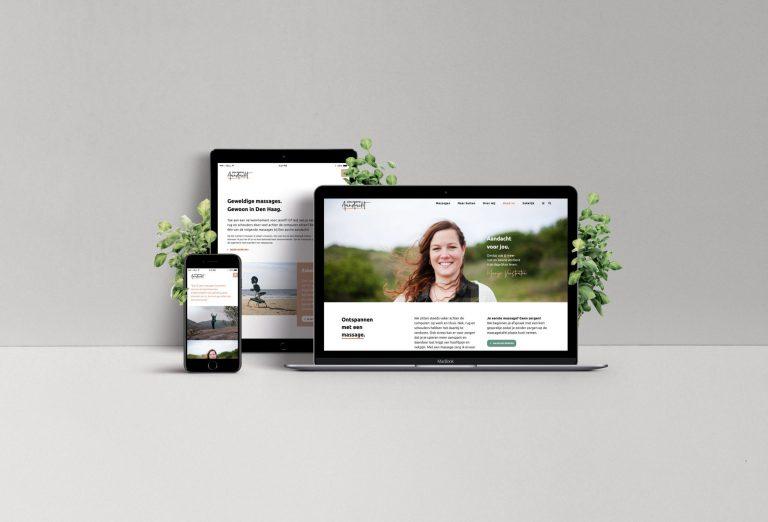 Nieuwe huisstijl, logo en website Een portie aandacht