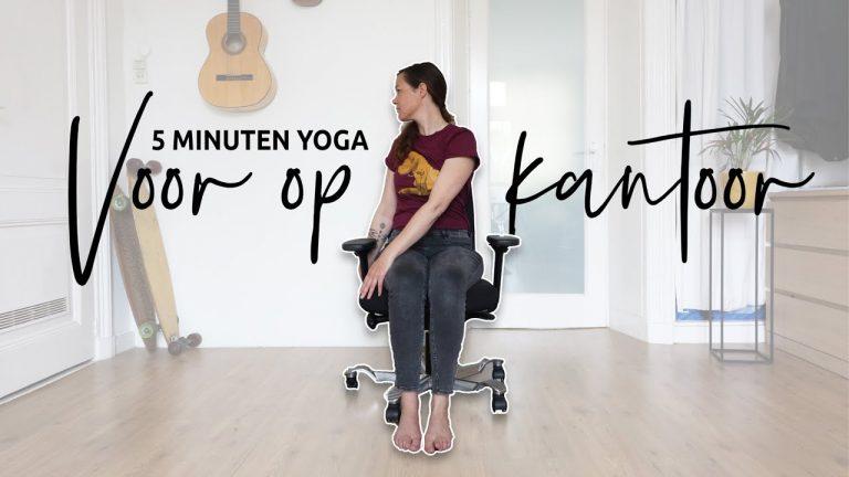 5 minuten Kantoor yoga