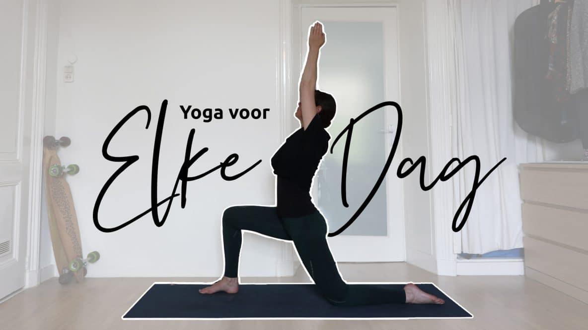 yoga voor ieder moment