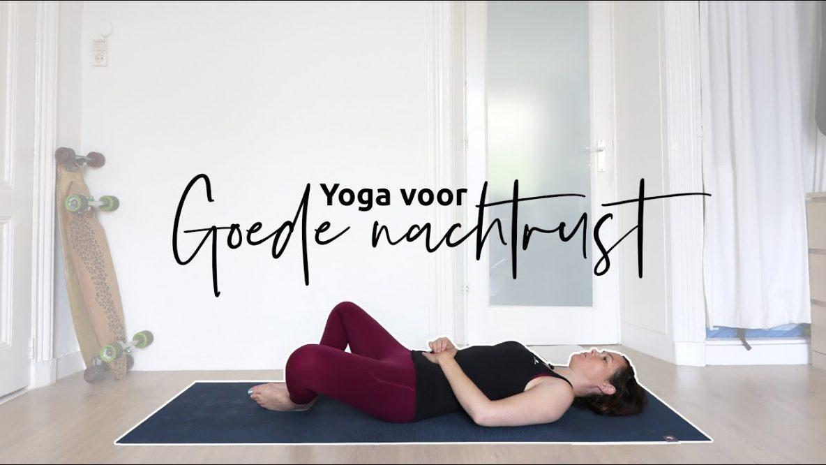 20 minuten yoga voor het slapen gaan