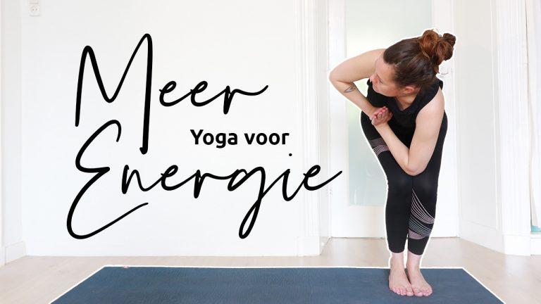 boost je energie met yoga