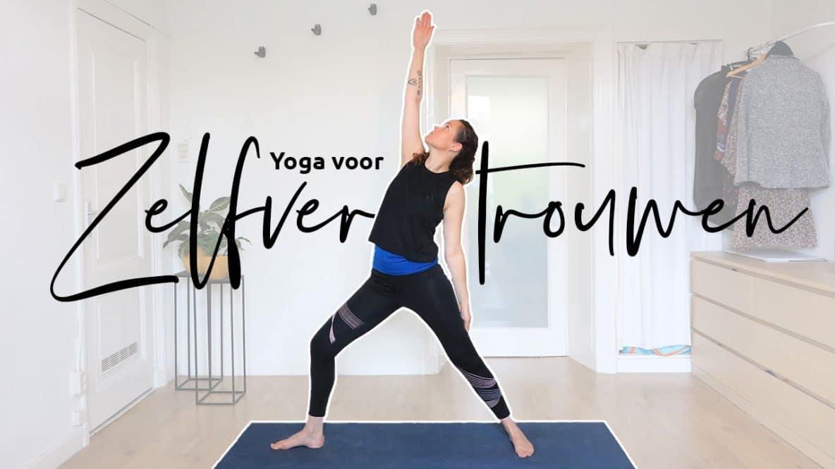 Meer zelfvertrouwen door yoga