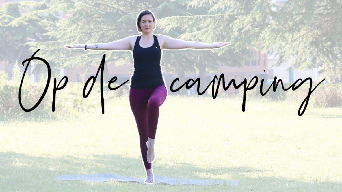 yoga tijdens het kamperen