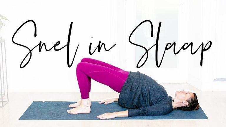 Snel in Slaap met Yoga