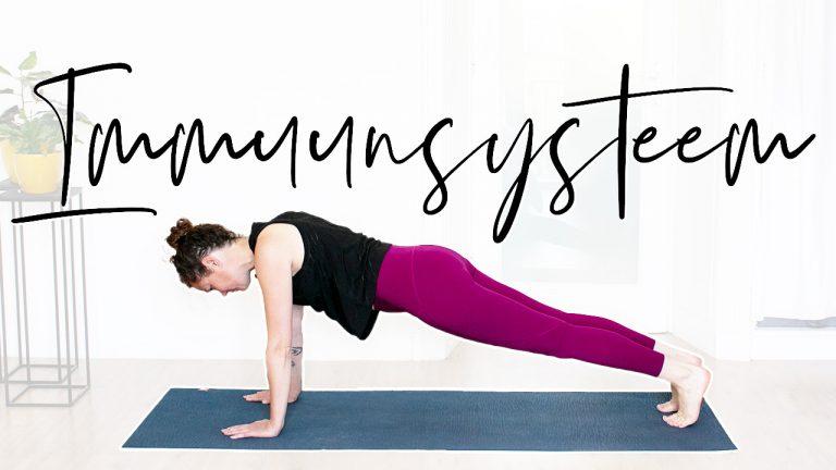 Boost je immuunsysteem met yoga