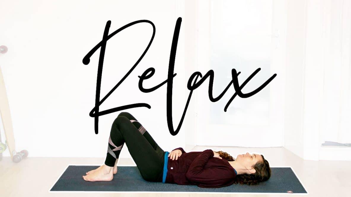 Ontspan met yoga
