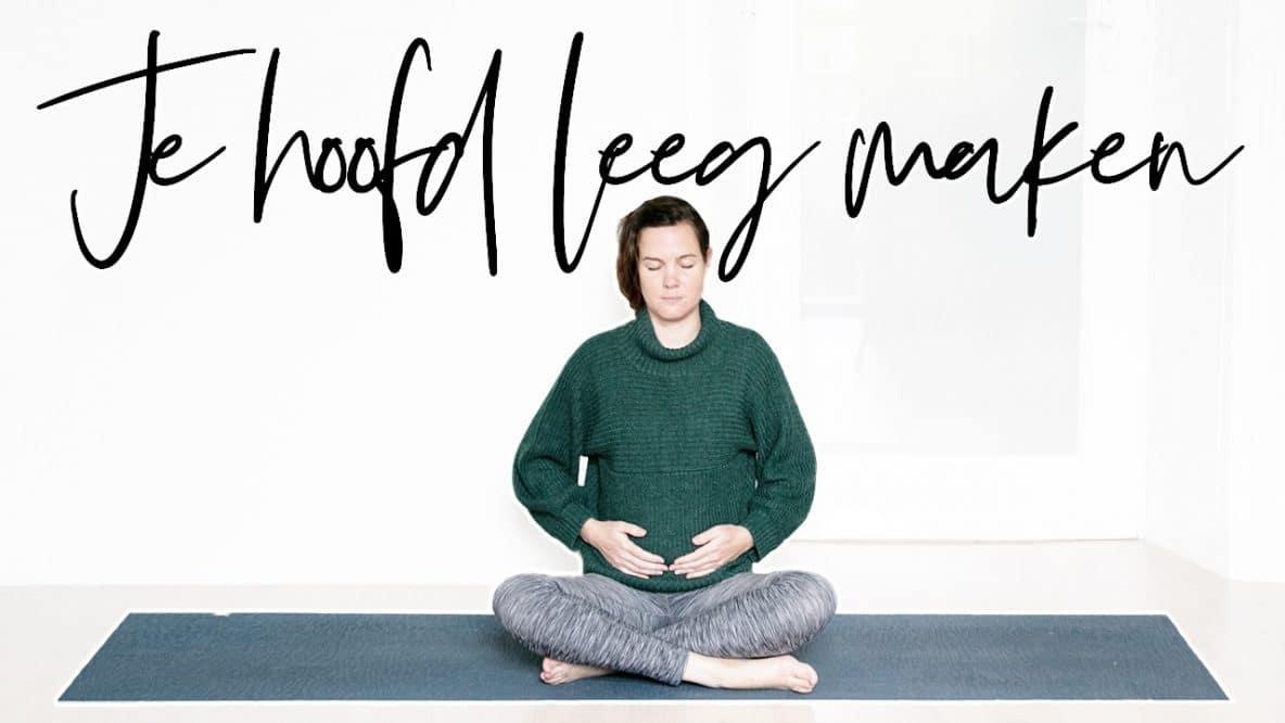 Je hoofd tot rust krijgen met yoga