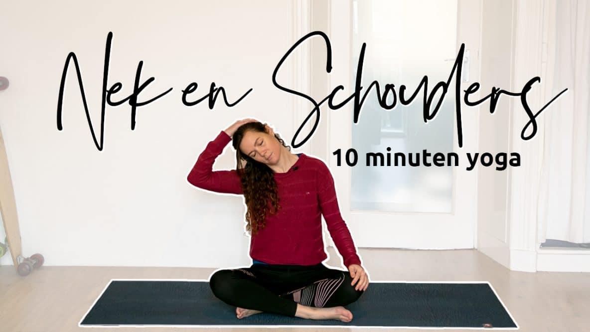 Yoga voor nek en schouders