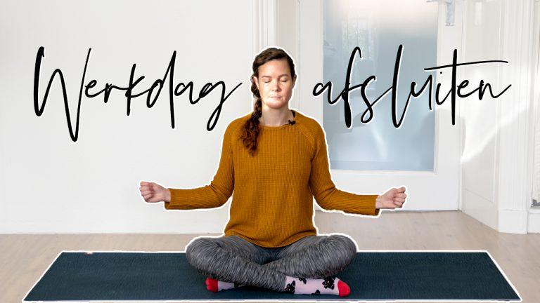 Yoga om je werkdag af te sluiten