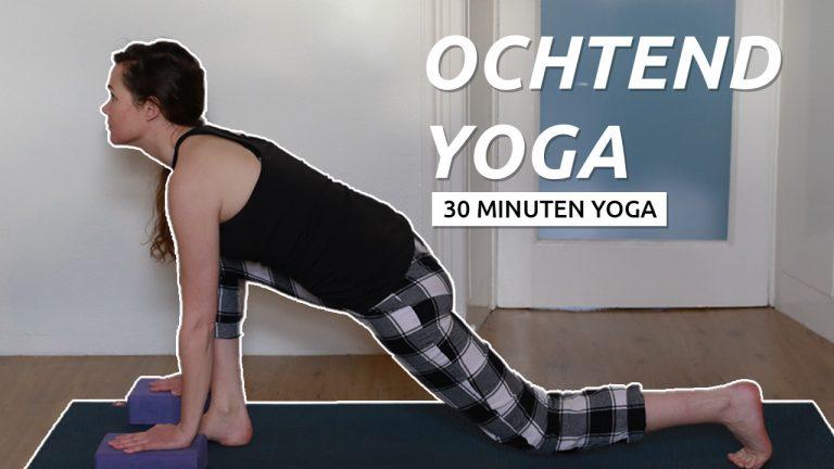 Ochtend starten met yoga