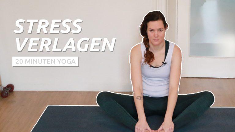 yoga bij stress
