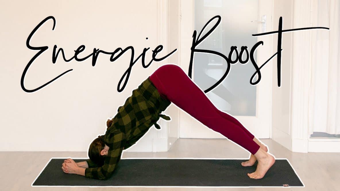 Meer energie met yoga