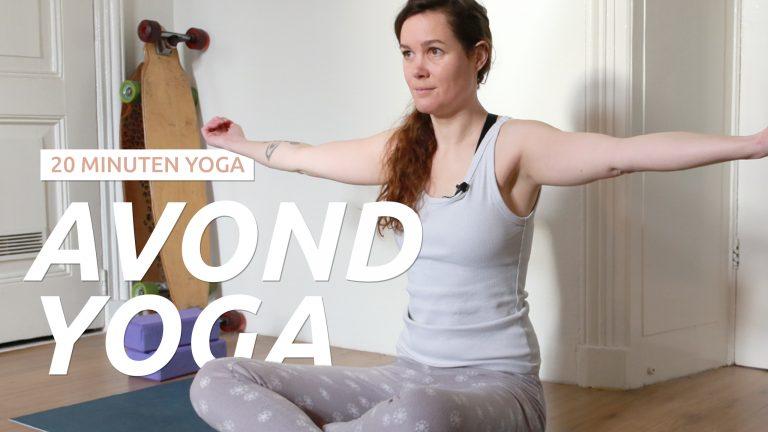 Yoga voor in de avond