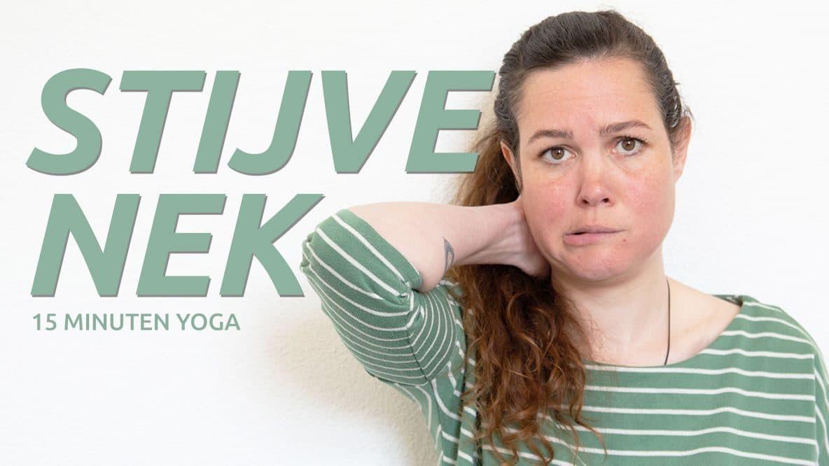 Yoga bij nekpijn