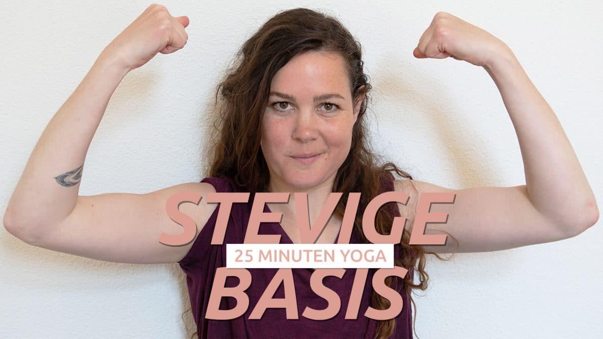 Grondende Yoga oefeningen