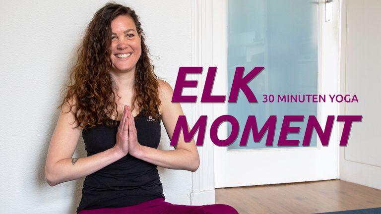 Yoga om elk moment te doen