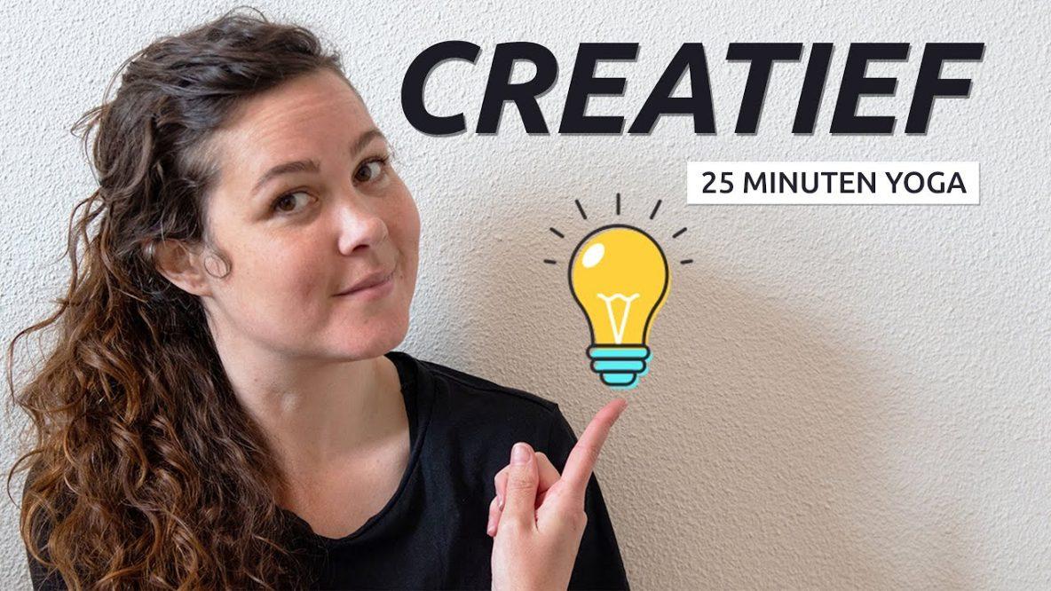 Creativiteit door yoga
