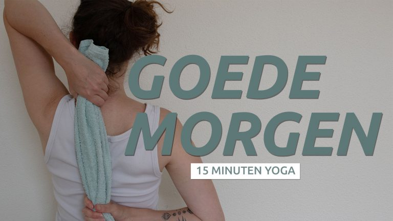 Start je dag met yoga