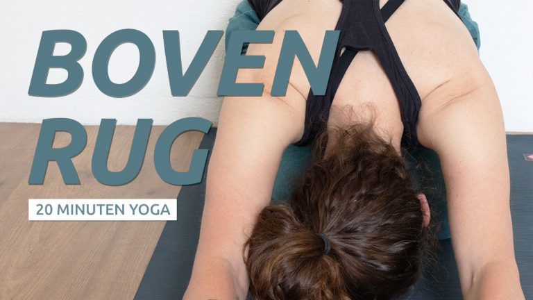 Yoga voor klachten bovenrug
