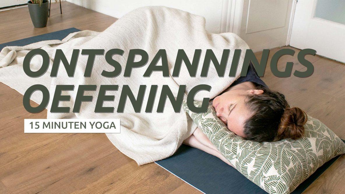 Ontspannen met yoga