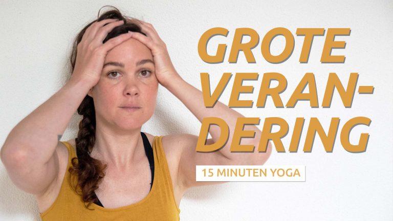 Yoga wanneer je overweldigd bent