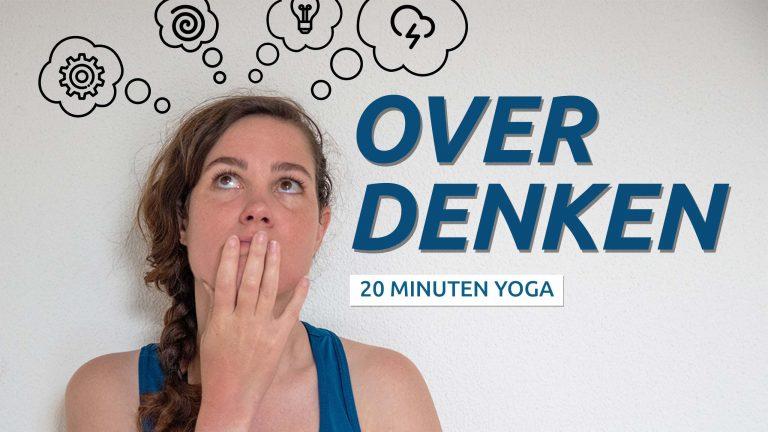 yoga bij peinzen en piekeren